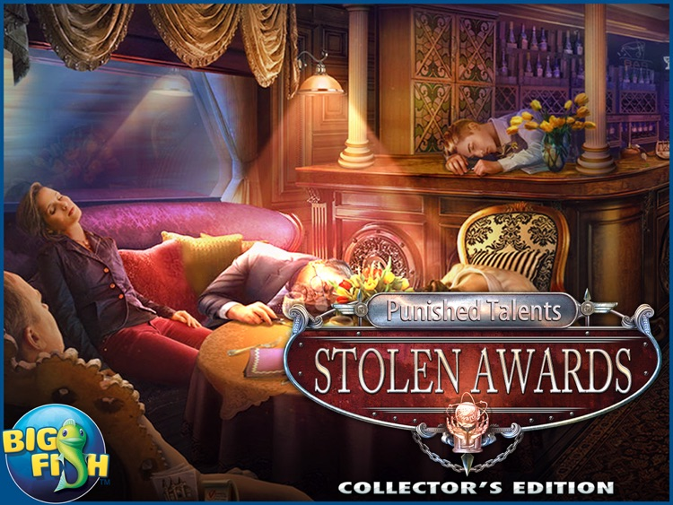 Punished Talents: Stolen Awards HD - A Mystery Hidden Object Game (Full) screenshot-4