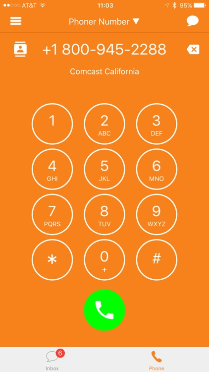 Phoner 2nd Phone Number Anonymous Text + Fake Call app image