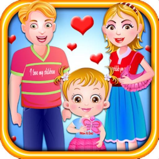 Baby Hazel : Valentine's Day iOS App