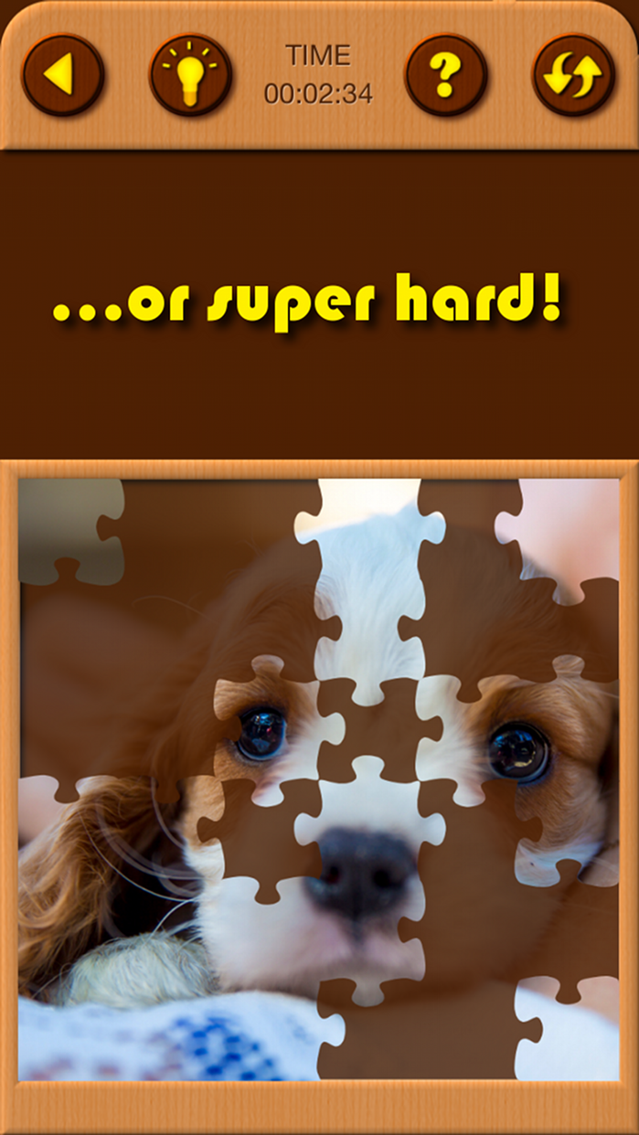 Cute Puppy Jigsaw Puzzle Games Screenshot