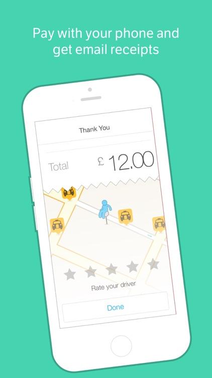 Hailo - The Taxi App screenshot-3