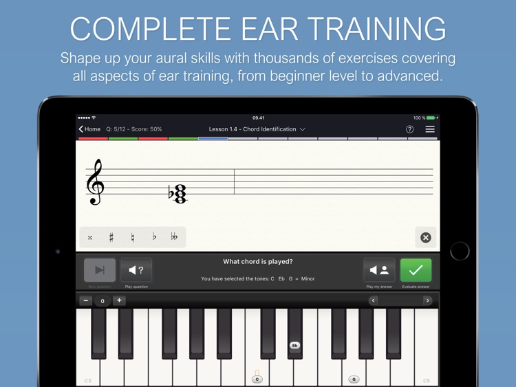 EarMaster - Music Theory & Ear Training screenshot-0
