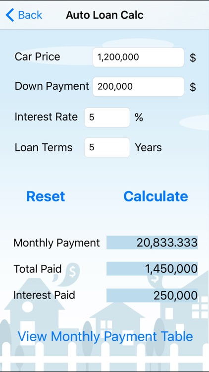 Home Loan Cal - EN screenshot-3