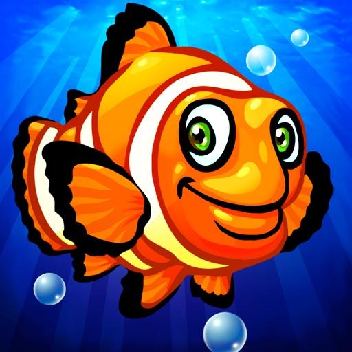 Океан животных головоломки удовольствие (Ocean Animals Puzzle) - для малышей и детей (Wooden animal shape and form puzzles for kindergarten kids and toddlers)