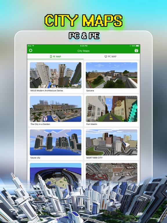 Best City Maps Pro for Minecraft PE Pocket Edition | App Price Drops