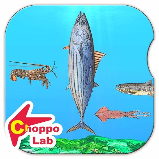 美味しい!海の生き物図鑑 ~かんたん図鑑放置シリーズ~ お魚グルメあつめゲーム