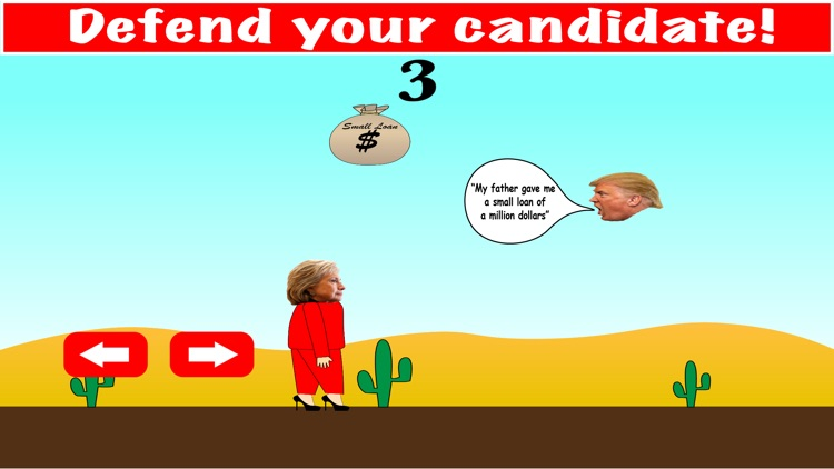 Donald Trump vs. Hillary Clinton: Protect and Defend Your Candidate