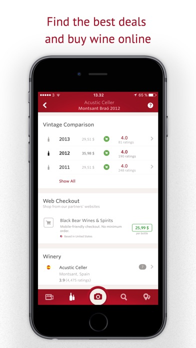 Screenshot for Vivino: Buy the Right Wine in United Arab Emirates App Store