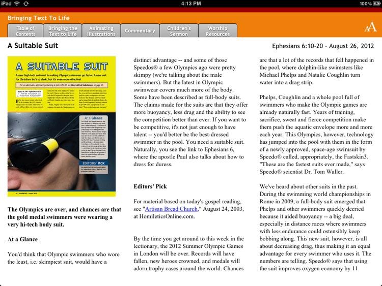 Homiletics for iPad screenshot-3