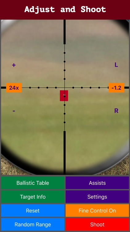 Longshot (metric) - Long Range Shooting Simulator and Mildot Scope Ranging Trainer screenshot-3