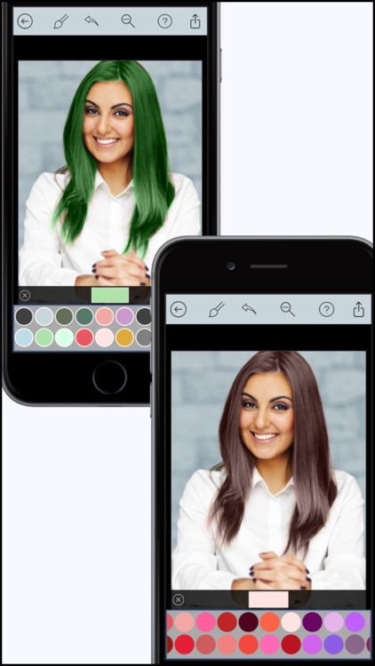 Hair Color Dye Pro - Recolor studio and Splash Effects Editor screenshot-3