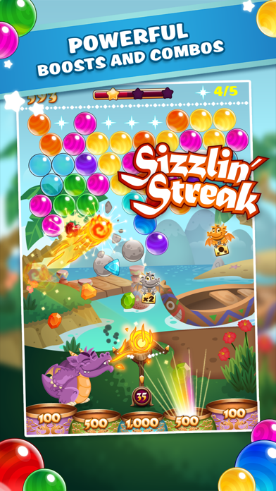 Bubble Blaze screenshot two