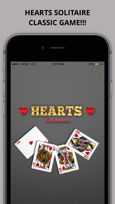 Hearts Solitaire Free Play Classic Card Game++ Pro