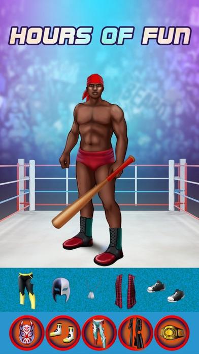 My World Champion Crazy Power Wrestlers Dress Up Club Game - Free App screenshot three