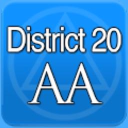 District 20 AA Meetings