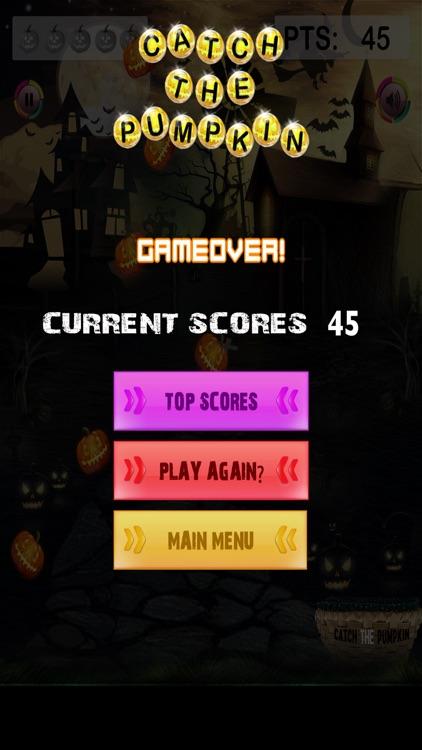 Catch The Pumpkin - Spooky Halloween Holiday Game screenshot-4