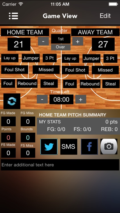 SportsCast Basketball screenshot-1
