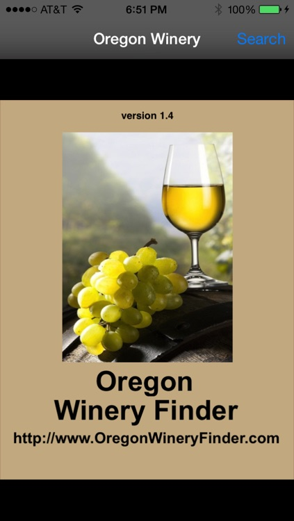 Oregon Winery Finder