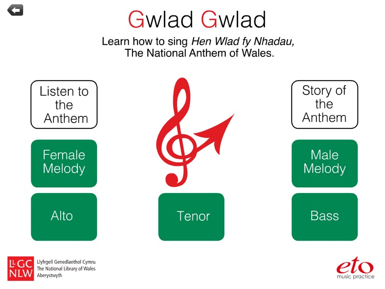 Gwlad Gwlad! - The National Anthem of Wales by eto music practice Ltd