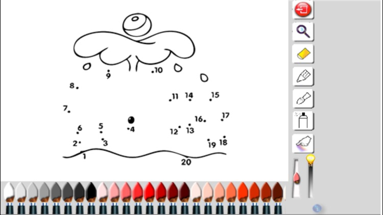 Colorings and drawing by numbers and dots screenshot-4