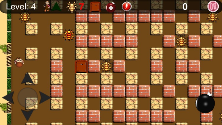 Bombuster Free Game for iPhone
