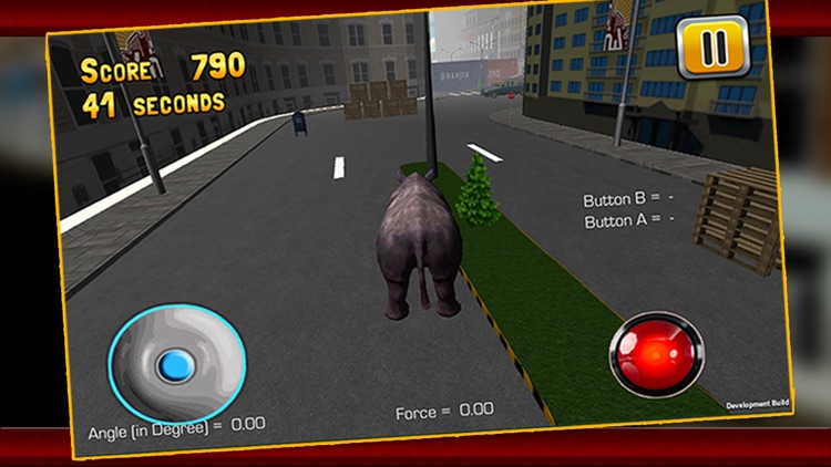 3D Rhino Simulator – Wild animal simulator and simulation game to destroy the city