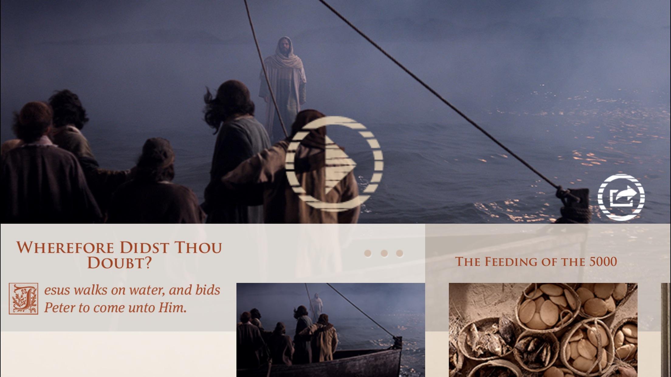 Bible Videos Screenshot