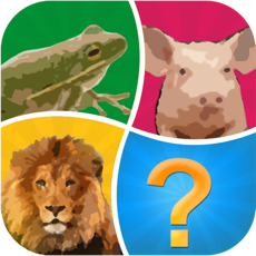 Activities of Word Pic Quiz Animals - guess favorites from the ocean, jungle, farm and pets