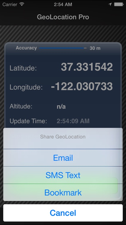 GeoLocation Pro screenshot-1