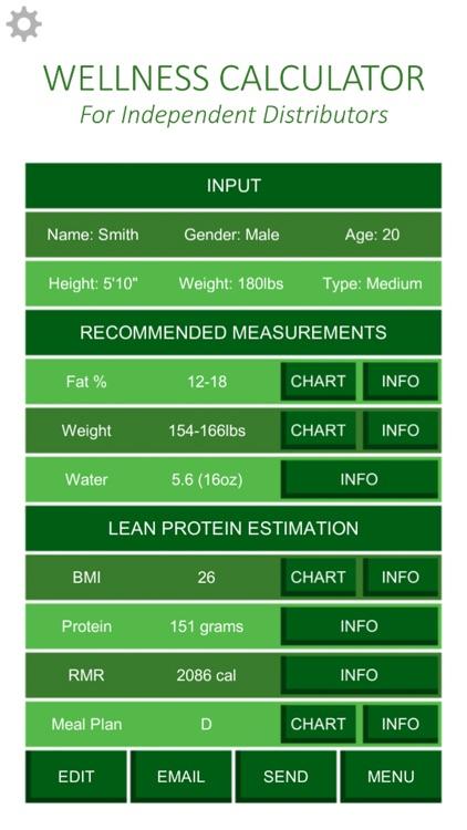 Wellness Calculator screenshot-3