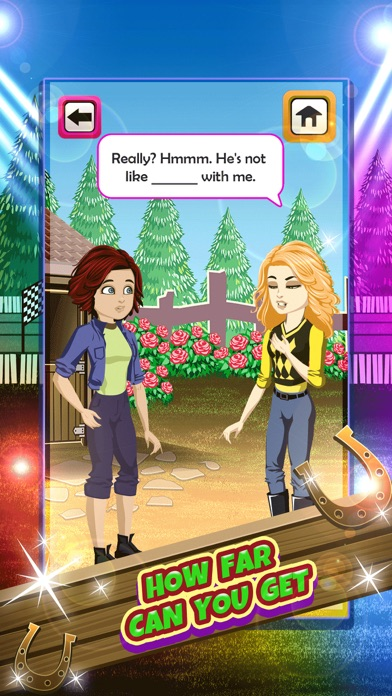 My Teen Life Horse World Story Pro - Stable Chat Social Episode Game Screenshot on iOS