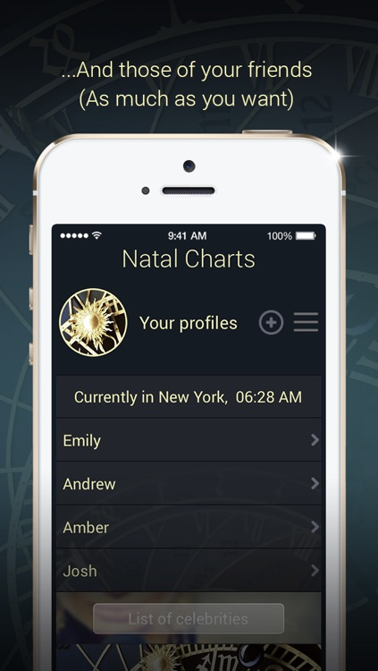 Natal Charts screenshot-1