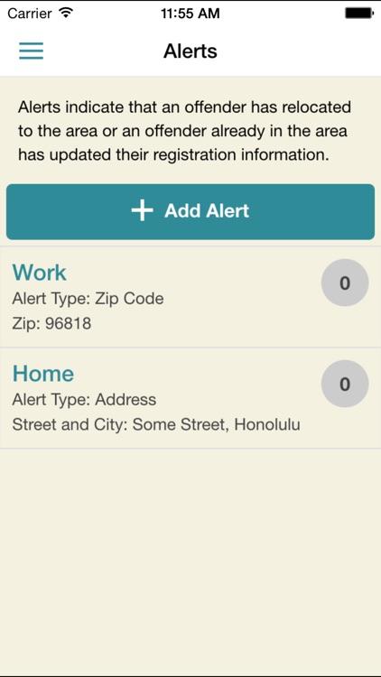 Hawaii Sex Offender Search screenshot-3