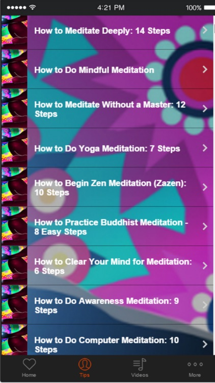 How to Meditate - Learn the Different Meditation Techniques for Relaxation screenshot-1