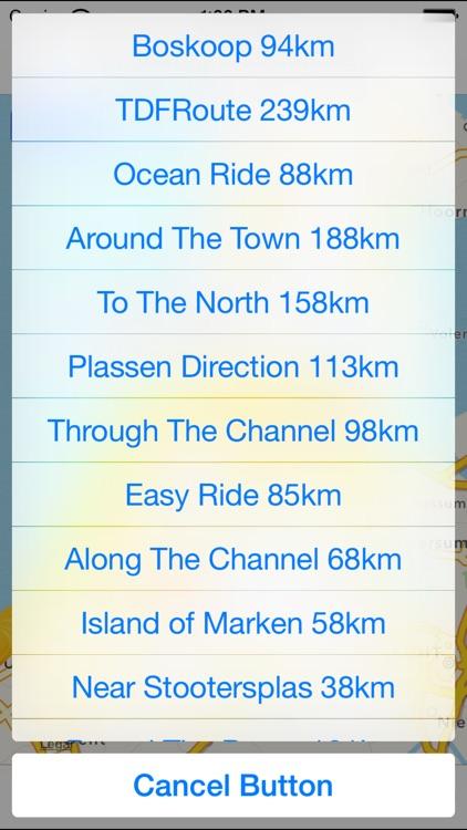 Amsterdam Cycling Map screenshot-3
