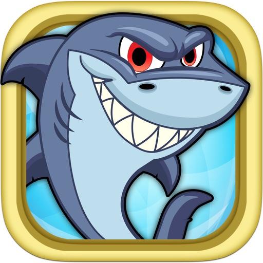 Акула плавать Rescue Игра бесплатно - Подводный выживания тире