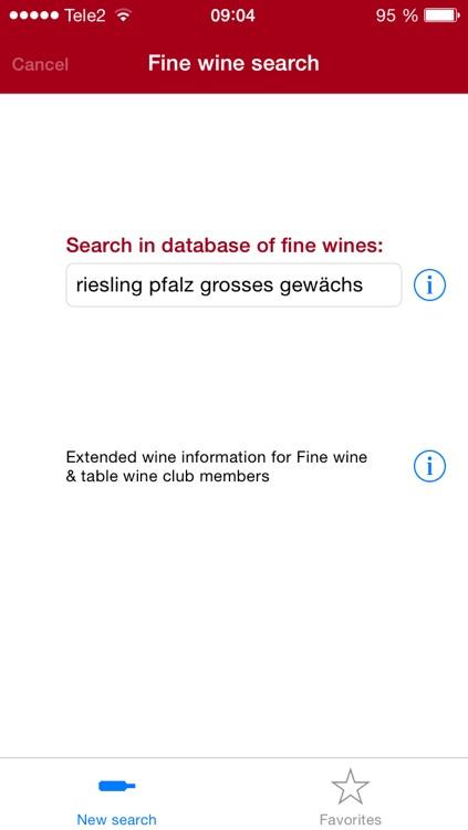 Fine wine check pro