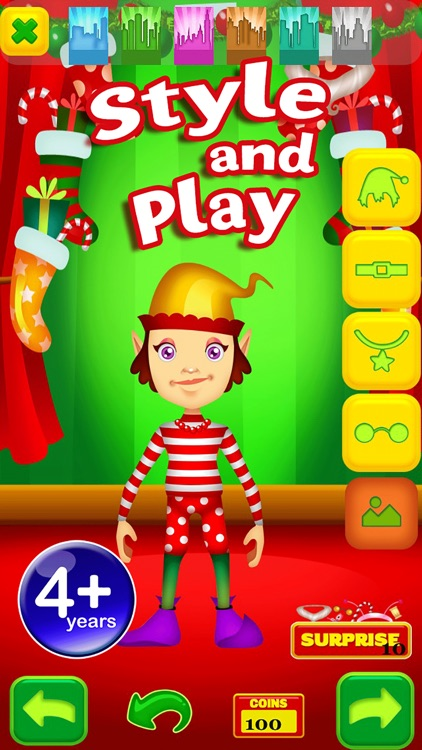 Santas Christmas Elf Game - Free App