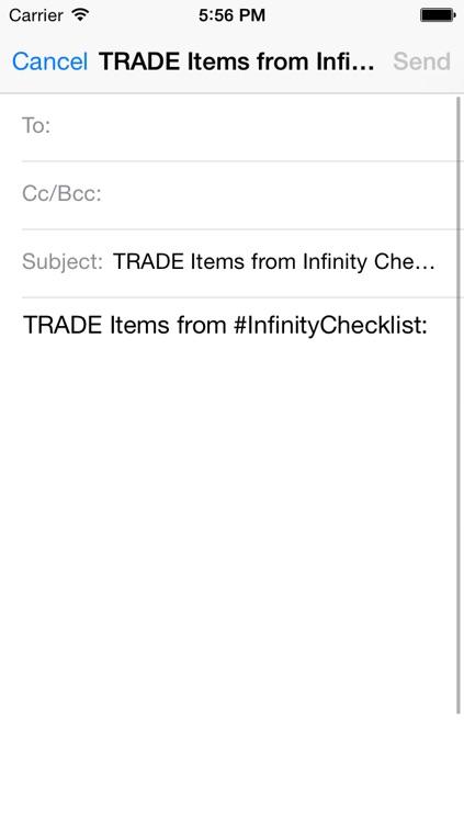 Infinity Tracker screenshot-4