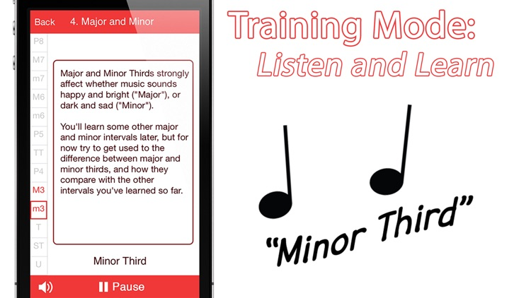 Relative Pitch Free Interval Ear Training - intervals trainer tool to learn to play music by ear and compose amazing songs