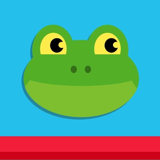 Frog Pong 2 - Super Mega Happy Sapo Dodge Tap Jump & Dash Game