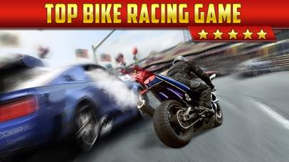 3D Motor-Bike Drag Race: Real Driving Simulator Racing Game Screenshot 1