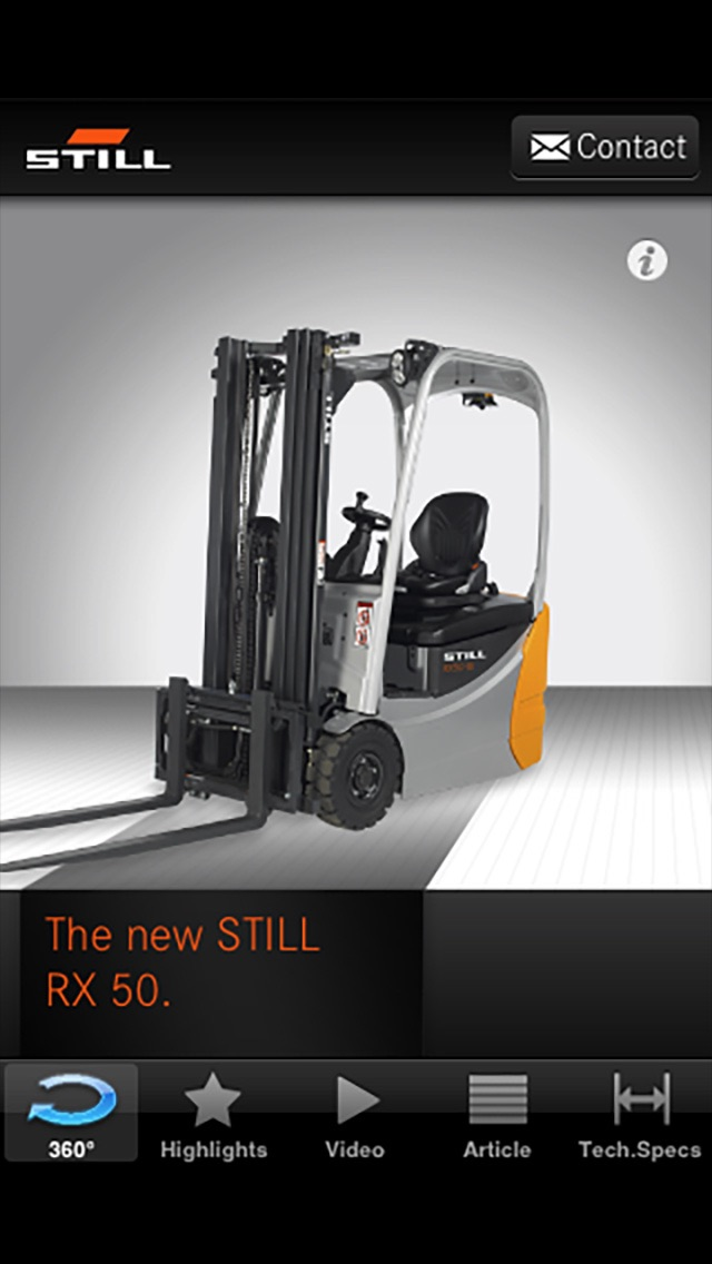 STILL RX 50 electric forklift truck