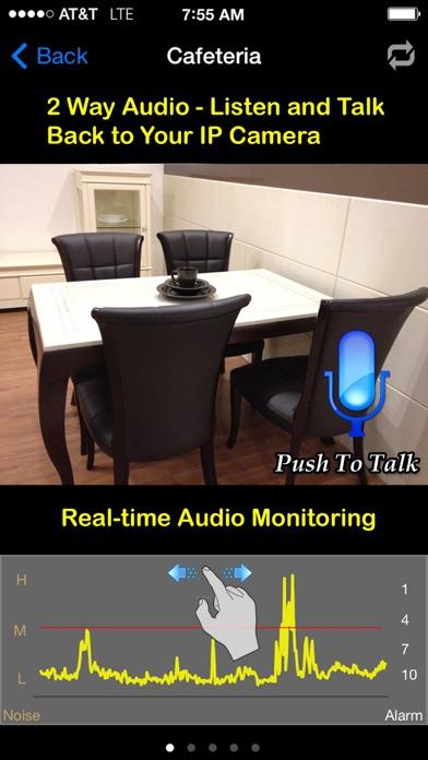 uWanscam: 2way Audio & AV Record screenshot one