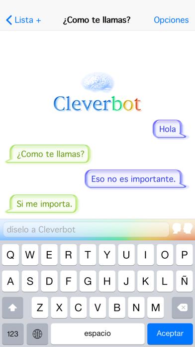 CleverbotCaptura de pantalla de3