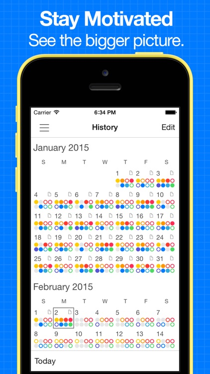 Daily Goals - Simple habit tracker and goal tracking with progress, streaks, analysis & reminders
