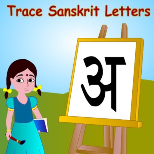 Trace Sanskrit And English Alphabets Kids Activity icon