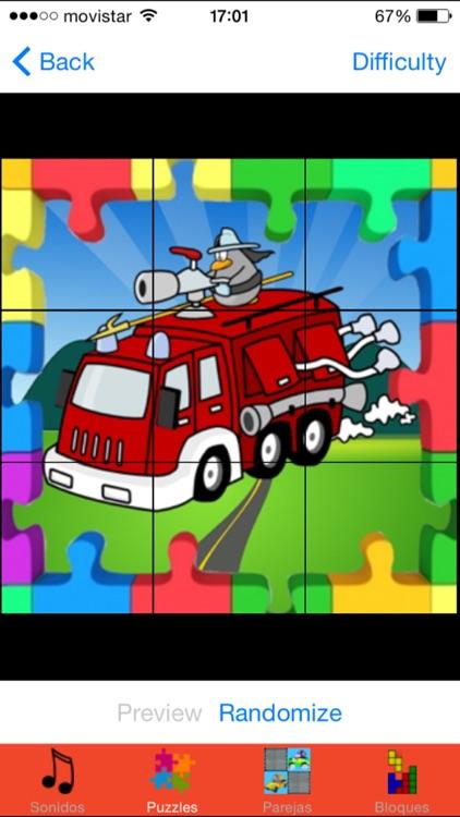 Juegos de Bomberos para niños screenshot-3
