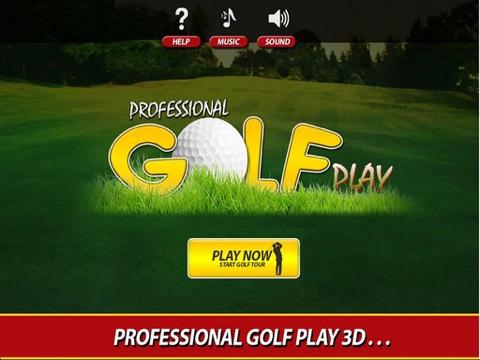Профессиональный гольф игра про для iPad