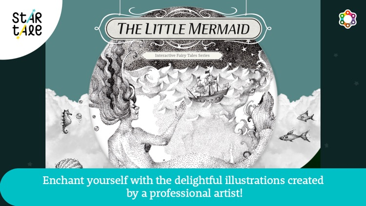 The Little Mermaid : Star Tale - Interactive Fairy Tale Series for Kids